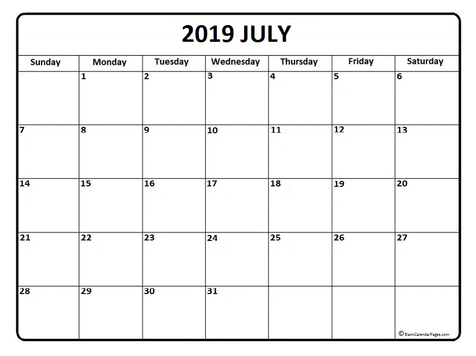 June 2019 To June 2020 Calendar Printable.2019 June July Calendar Erha Yasamayolver Com
